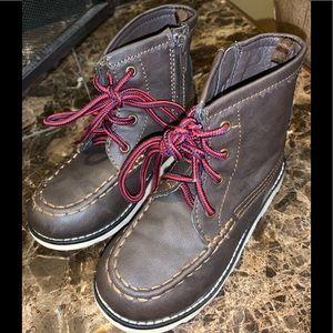 Gap- toddler dress boots-dark brown